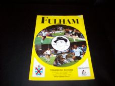 Fulham v Tranmere Rovers, 1989/90